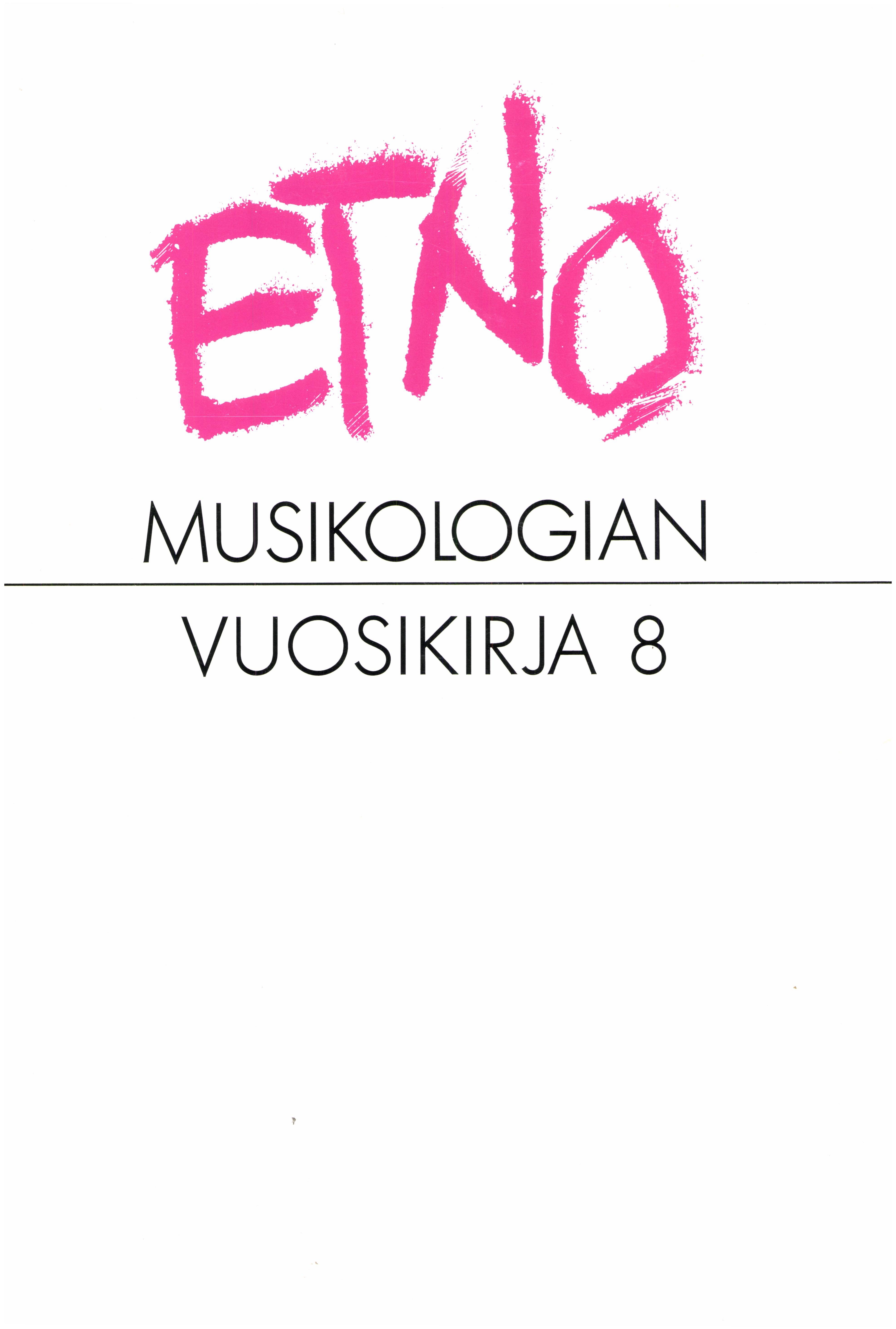 Näytä Vol 8 (1996)