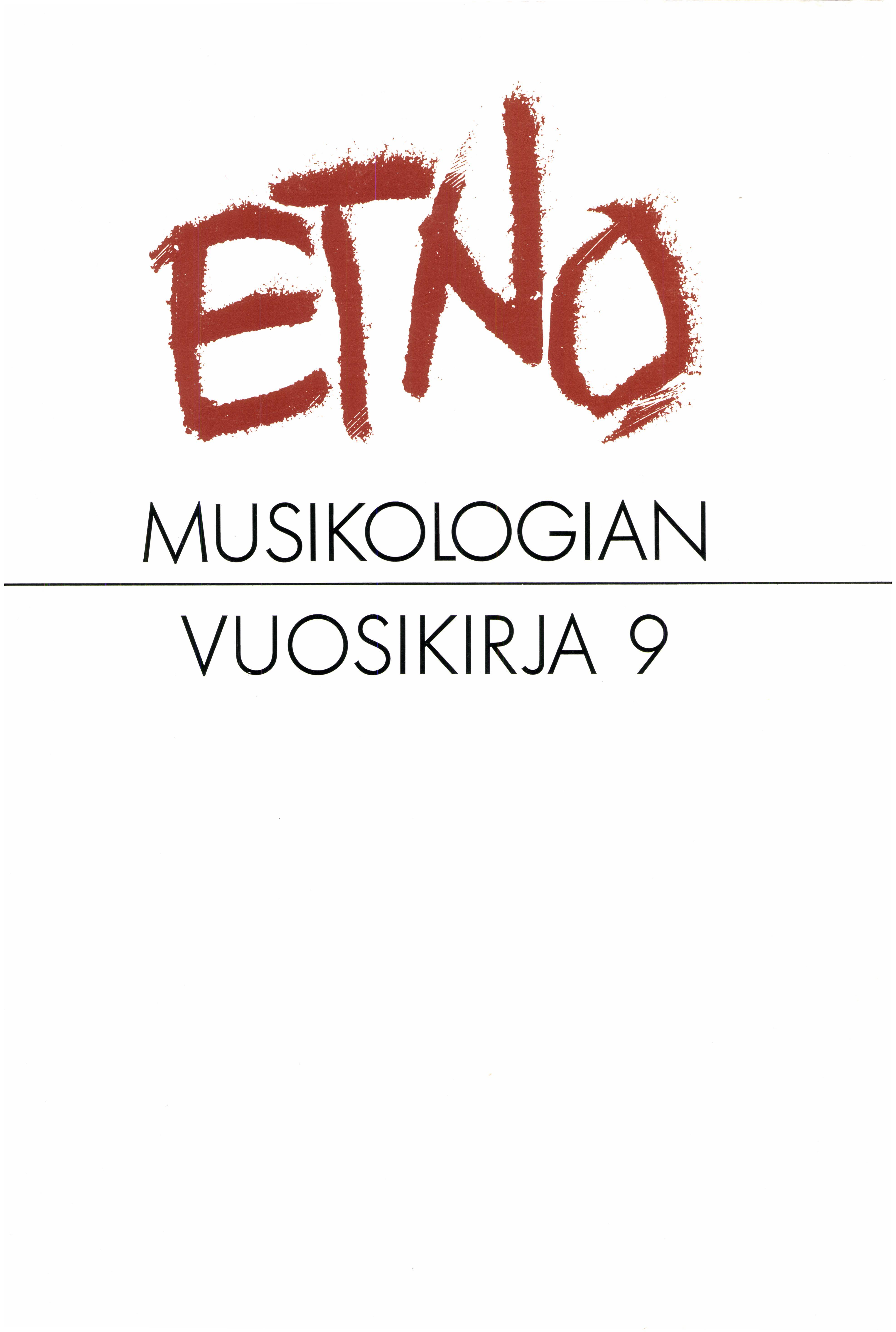 Näytä Vol 9 (1997)