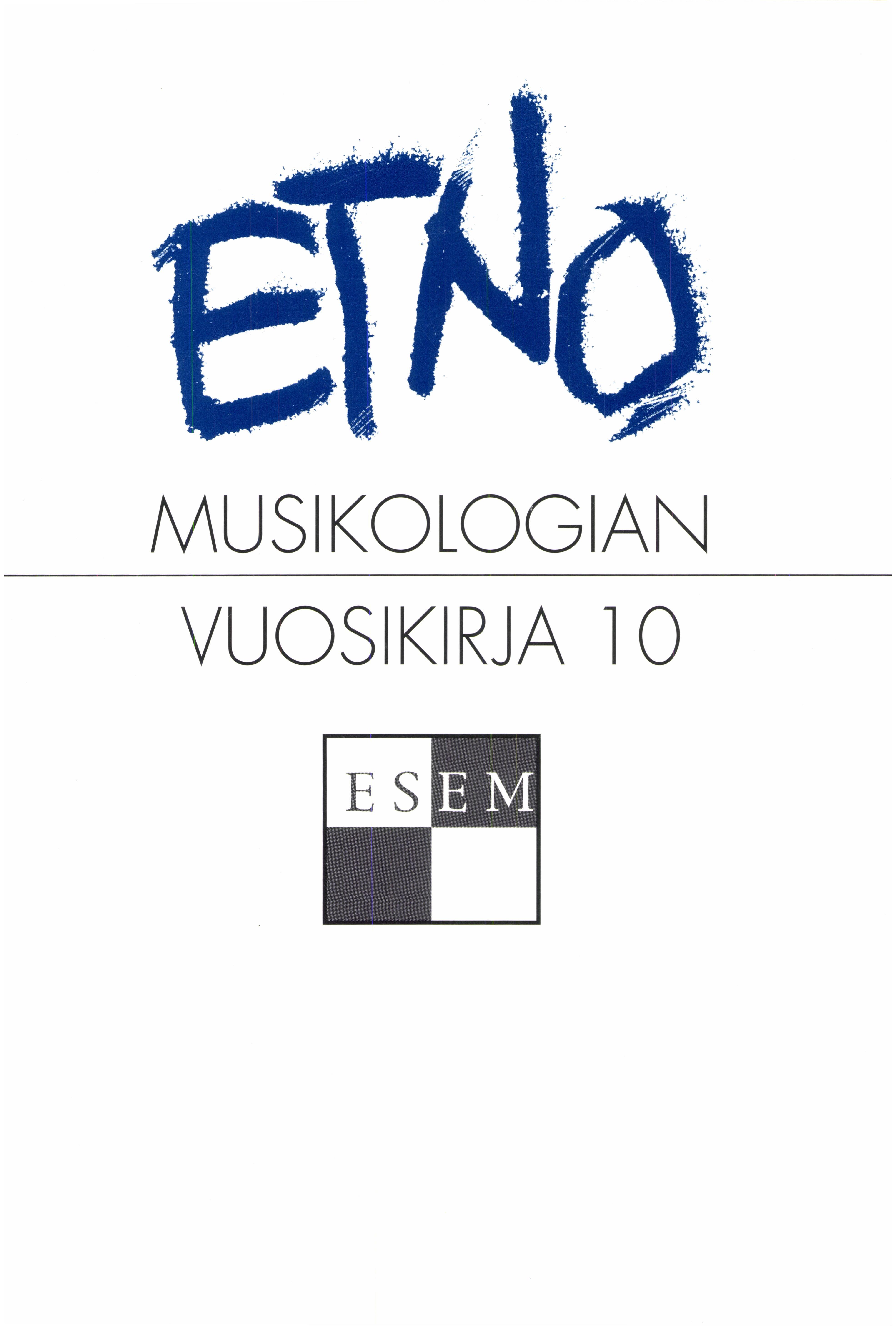 Näytä Vol 10 (1998)