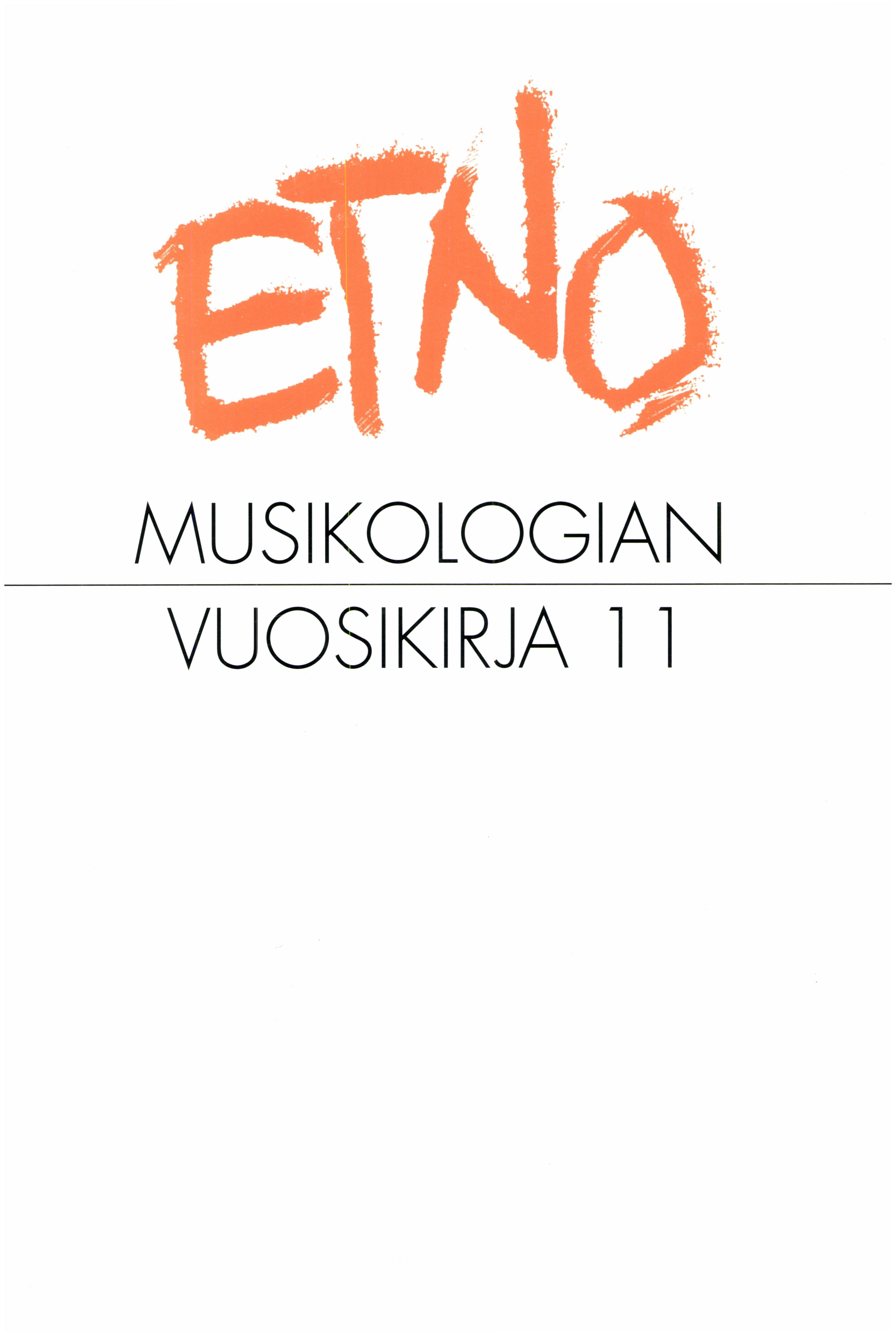 Näytä Vol 11 (1999)