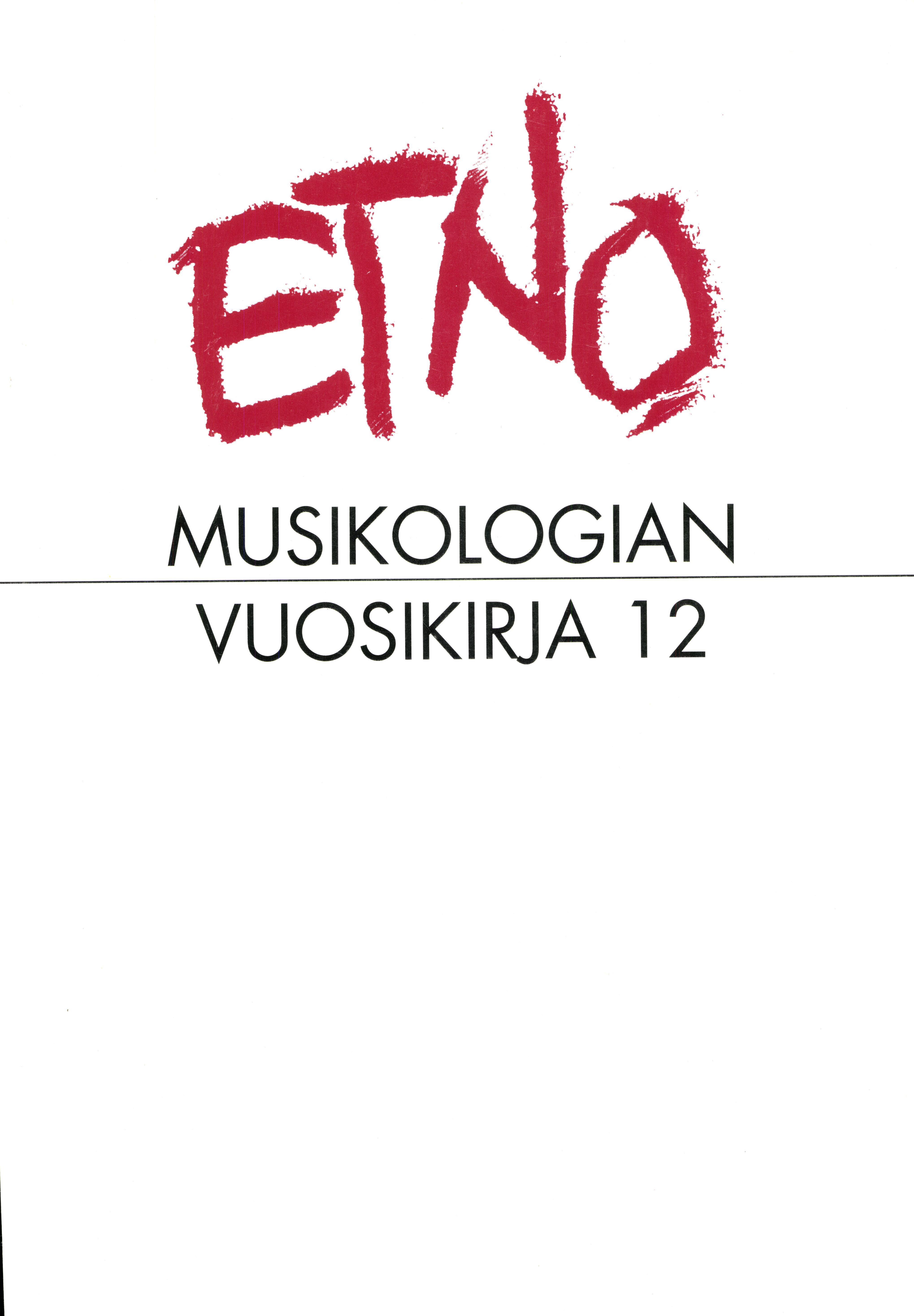 Näytä Vol 12 (2000)