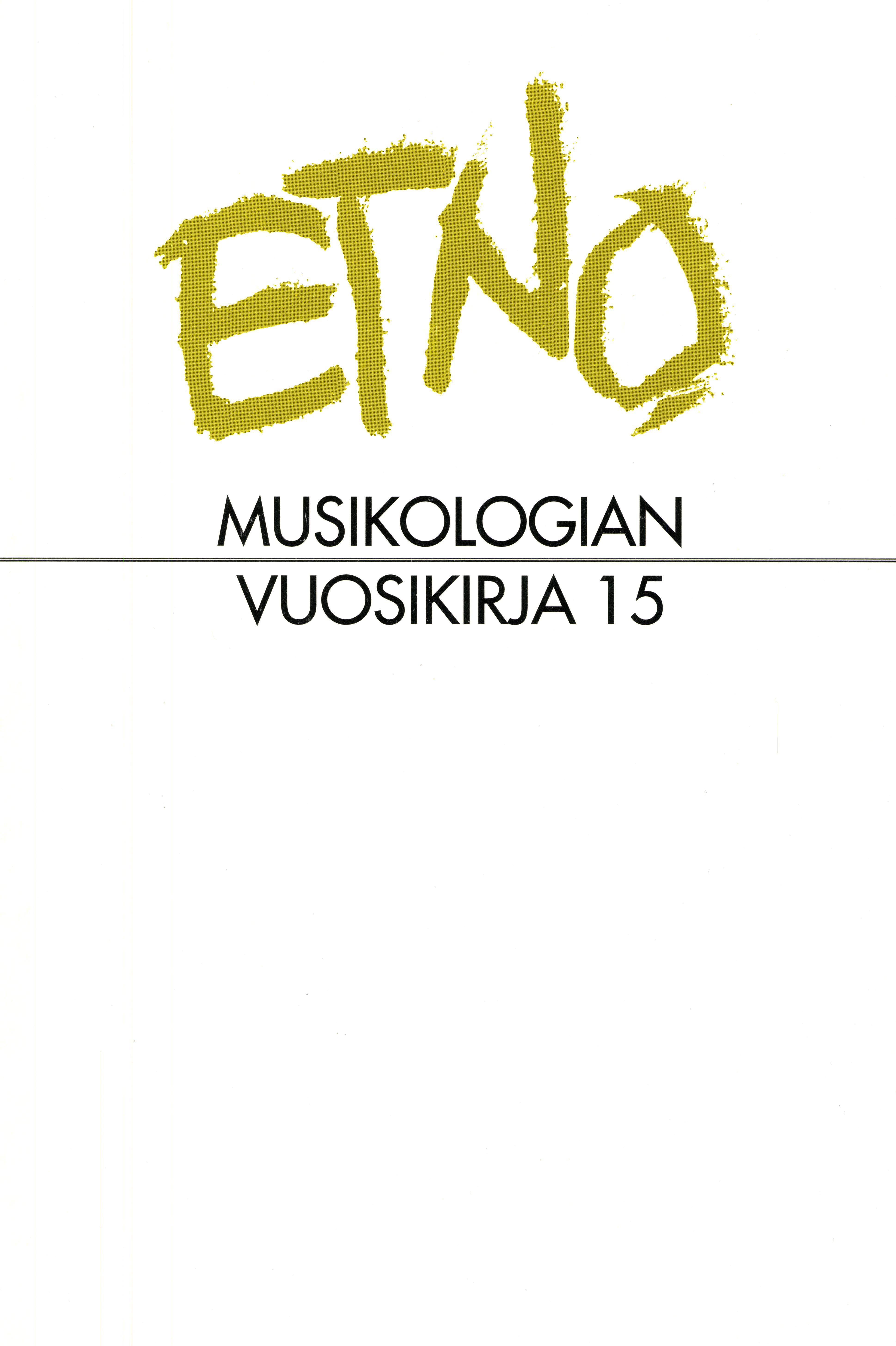 Näytä Vol 15 (2003)