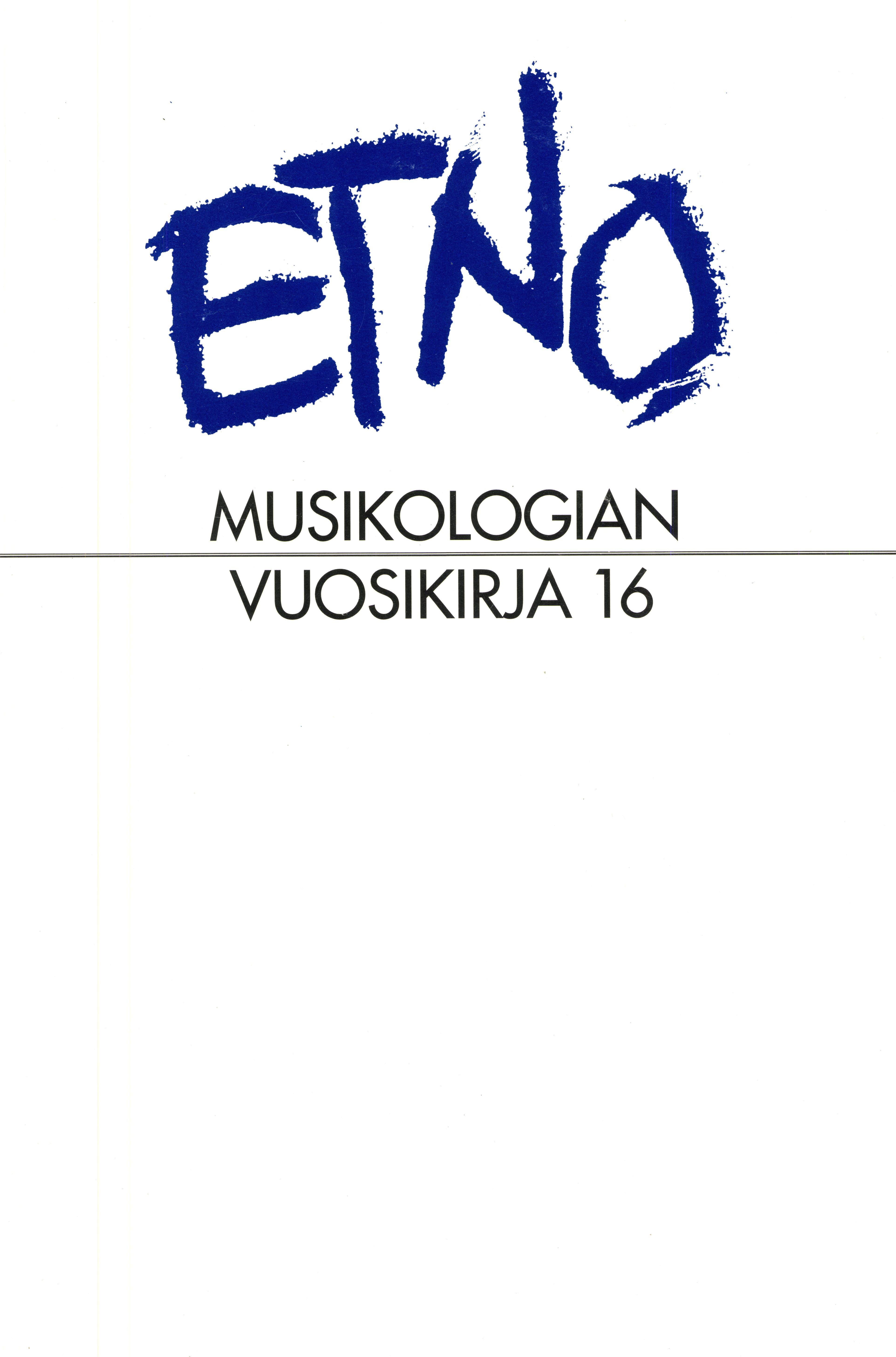 Näytä Vol 16 (2004)